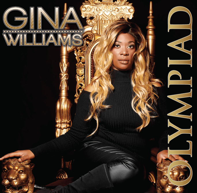 Album cover for Olympiad by Gina Williams